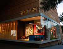 Playground. Window Design for Hermés