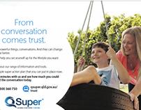 Power of conversation brand campaign - QSuper