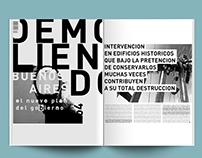 APERTURA/ diseño editorial