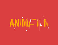 Typography Looping GIF
