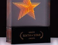 Uber Sixth Star Award