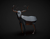 Low Poly Wild Animals