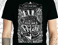 Cool Beard Bro T-Shirt Design