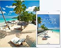 Interactive digital publication for Sandals Resorts