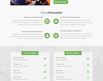 Xemina - Instapage Webinar Landing Page