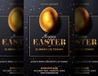Easter Party Flyer Invitation Template