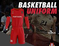 Basketball Uniform Costum Mockup