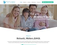 Medical & Dentist WordPress Theme made by nexstair