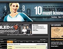 Banner Design for DIY Network