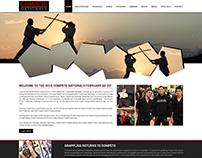 Compete Karate Website Design