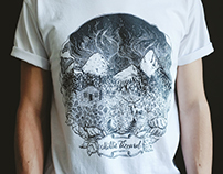 Woods T-Shirt Illustration