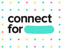 ConnectFor - Identity & Web Design