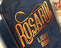 Rosaria & El Draque Rum Packaging