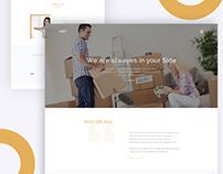 Loan Landing Page Concept