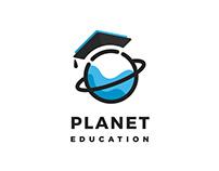 Logo for Planet Education