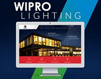Wipro Lighting website concept