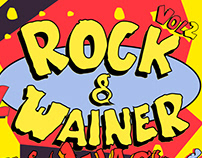 Rock&Wainer's poster and social media banners