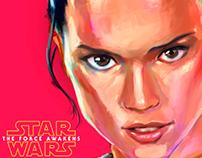 Rey - star wars - the force awakens