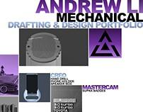 Mechanical Drafting and Design Portfolio