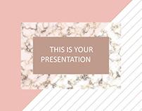 Cambria Elegant Free Presentation Template