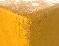 "Substance designer ""Yellow paint"""