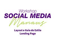 Landing Page - Workshop Social Media Manaus