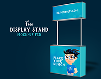 Free Display Stand Mock-up PSD