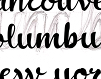 Drawing letters