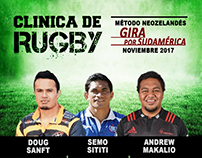 Rugby Clinic in Argentina - Samoan Coaches