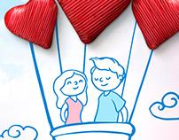 Valentine's Day / Banco del Pacífico