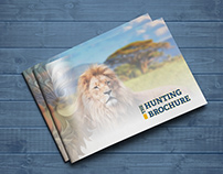 Hunting Brochure Design