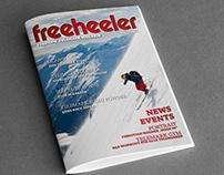 freeheeler Telemark Skiing magazine