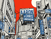 Aaron & Chris Liberator ポスター