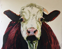 The Cow, a work in progress.