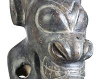 Pre-Colombian Olmec statue