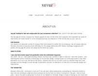 Copywriting for Sauvage 86