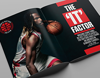 Sportsnet magazine Toronto Raptors Preview 2015