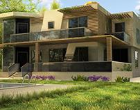 Modern villa in istanbul