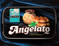 Angelato ice-cream packaging design