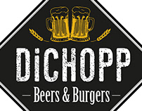 Logo e Identidade Visual - Dichopp