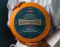 Queijos SUPREMO Rebranding