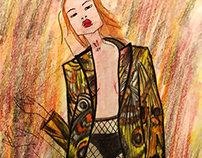 Fashion illustration for SORRY I`M NOT