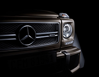G63 AMG Car fine art photography. (FDL technique)