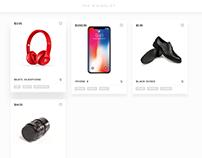 UI CHALLENGE #3 Minimalist Online Shop