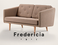 Fredericia Furniture - rebranding webdesign