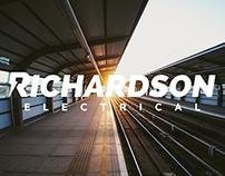 Richardson Electric Logo & Web Design