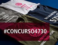 #Concurso4730 Camiseta