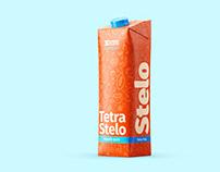 Tetra Pak. Stelo Pack (1000ML) Mockup Set
