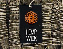 Hemp Wick Branding