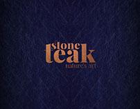 Stone teak Logo Design